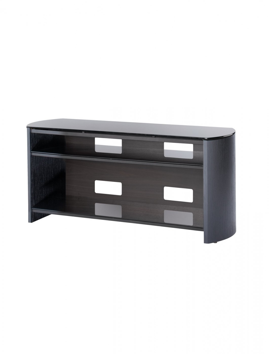 alphason fw1100 bv b finewoods tv stand 121 tv mounts. Black Bedroom Furniture Sets. Home Design Ideas