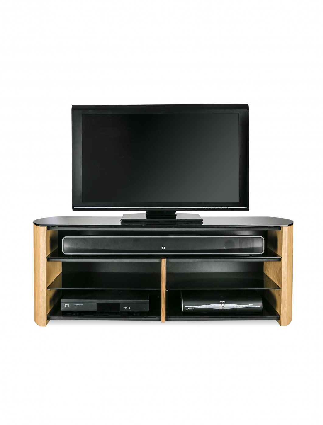 Alphason FW1350SB-LO Finewoods TV Stand