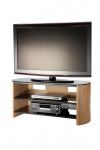 Alphason Finewoods FW1100-LO/B TV Stand - enlarged view