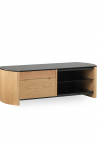 TV Stands - Alphason FW1100CB-LO Finewoods TV Stand in Light Oak - enlarged view