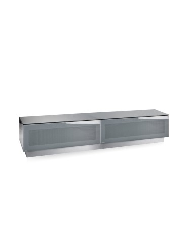 TV Stand Element Modular EMTMOD1700-GRY Grey TV Stand with Glass Top