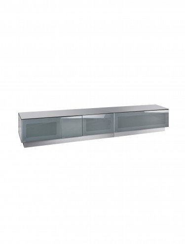 TV Stand Element Modular EMTMOD2100-GRY Grey TV Stand with Glass Top