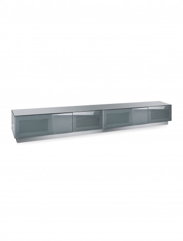 Alphason EMTMOD2500-GRY Element Modular Glass Top TV Stand