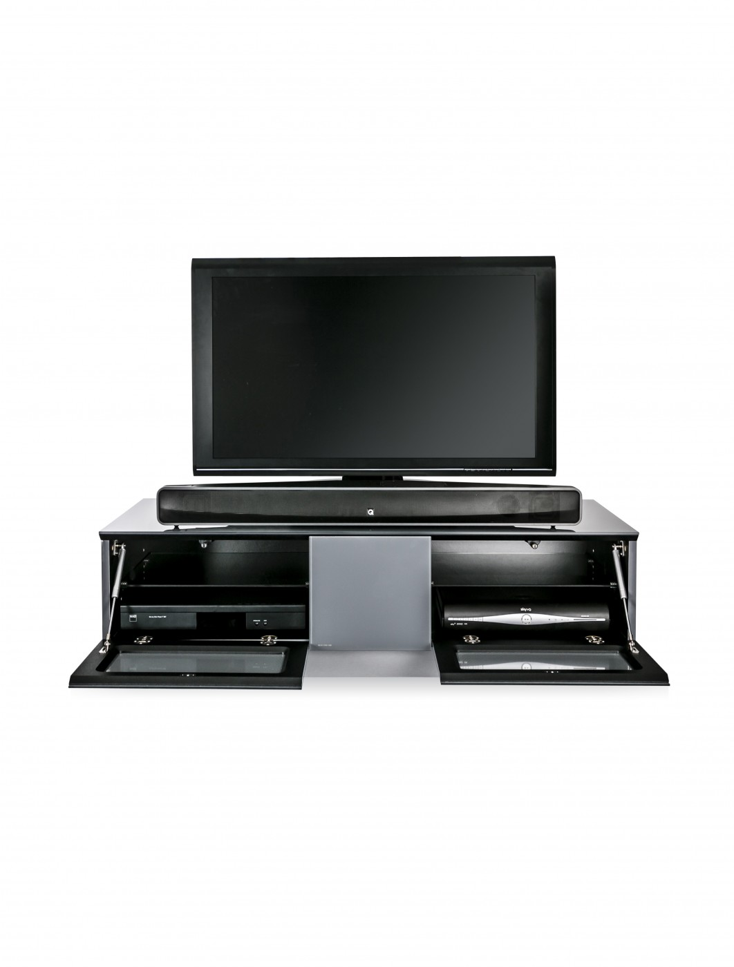 Alphason EMTMOD1250-GRY Element Modular TV Stand