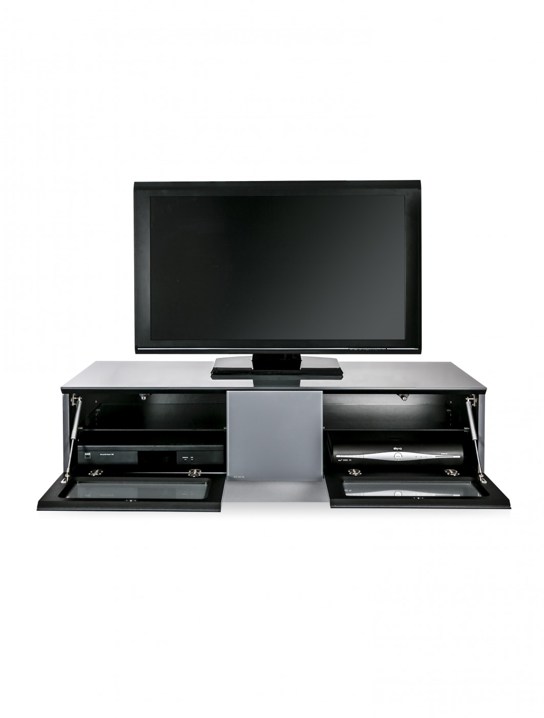 alphason emtmod1250 gry element modular tv stand 121 tv mounts. Black Bedroom Furniture Sets. Home Design Ideas