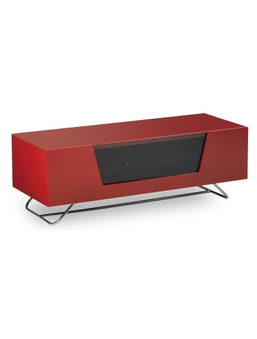TV Stand Alphason CRO2-1200CB-RED Chromium - Red