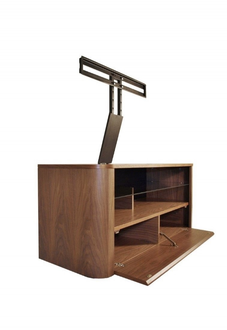 Alphason Hugo TV Stand ADH1260-WAL Walnut with Bracket