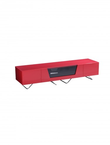 TV Stand Alphason CRO2-1600CB-RED Chromium - Red