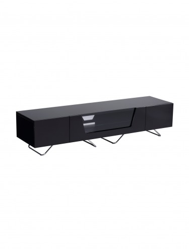TV Stand Alphason CRO2-1600CB-BLK Chromium - Black