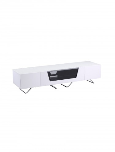 TV Stand Alphason CRO2-1600CB-WHT Chromium - White