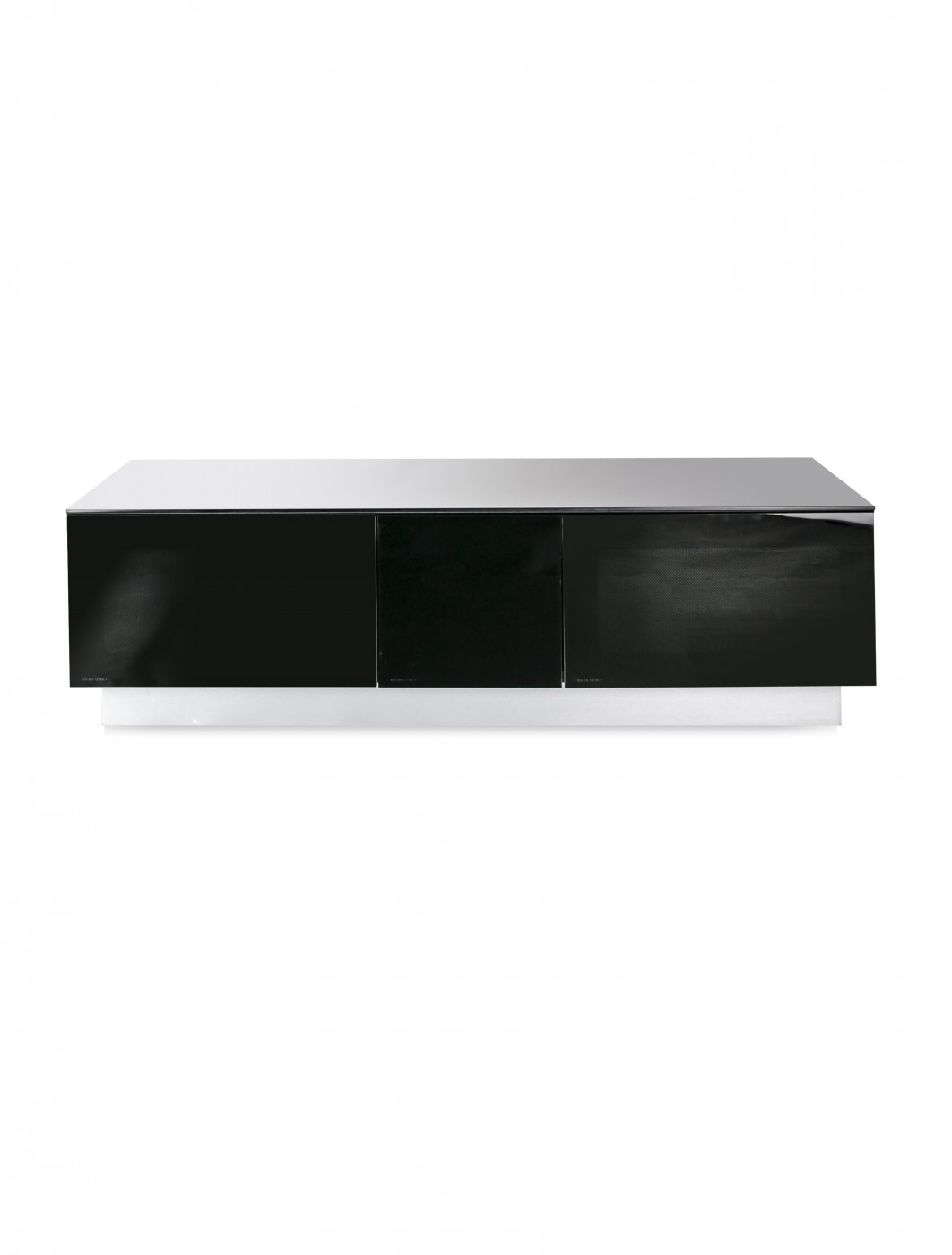 Alphason EMTMOD1250-BLK Element Modular TV Stand