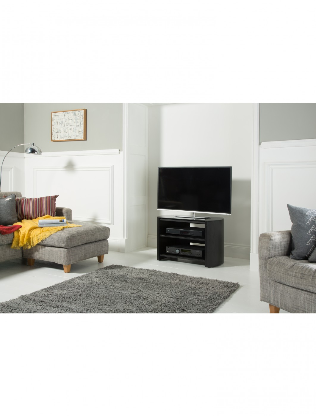 Alphason FW750-BV/B Finewoods TV Stand