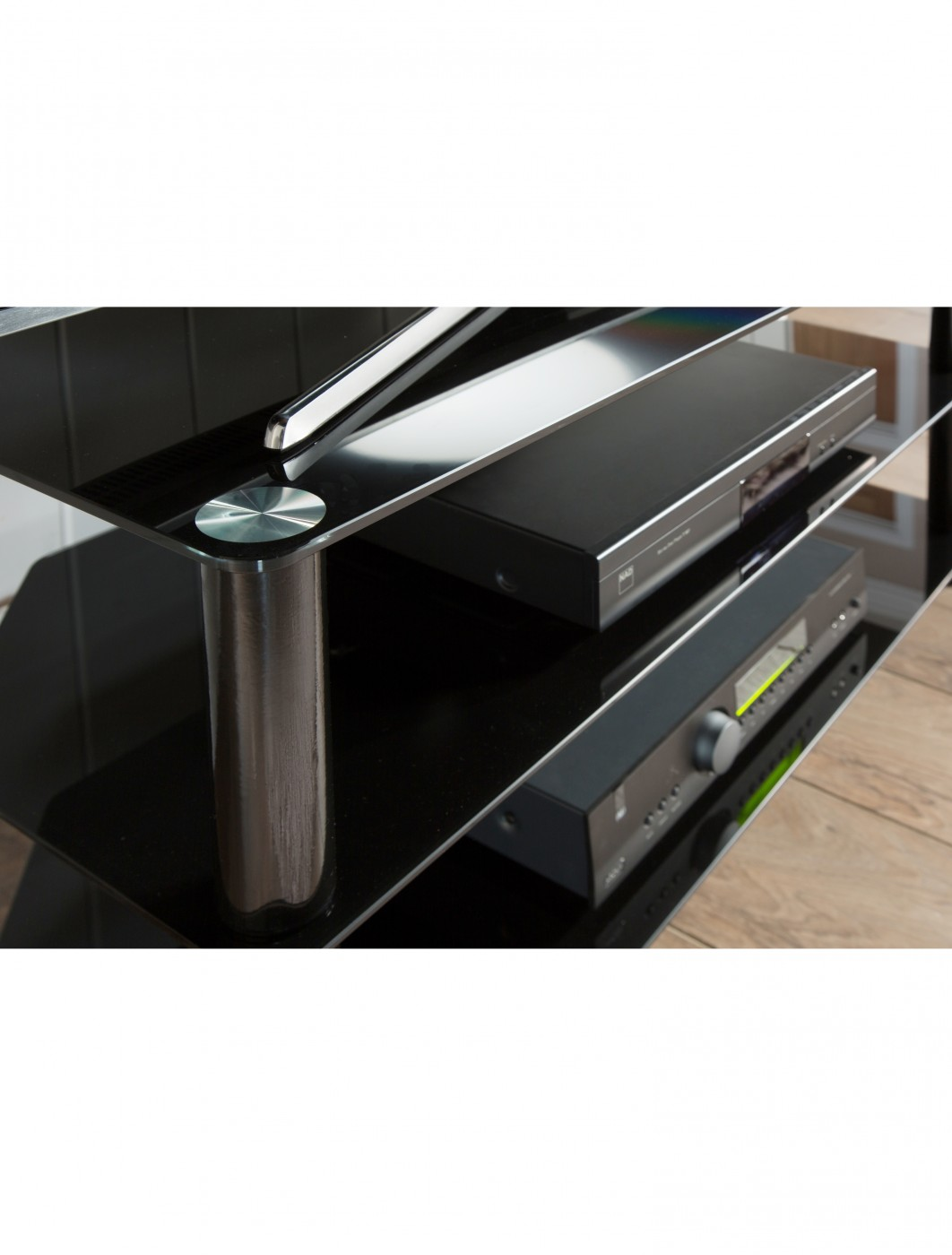 Alphason ESS1000/3-BLK Essentials TV Stand