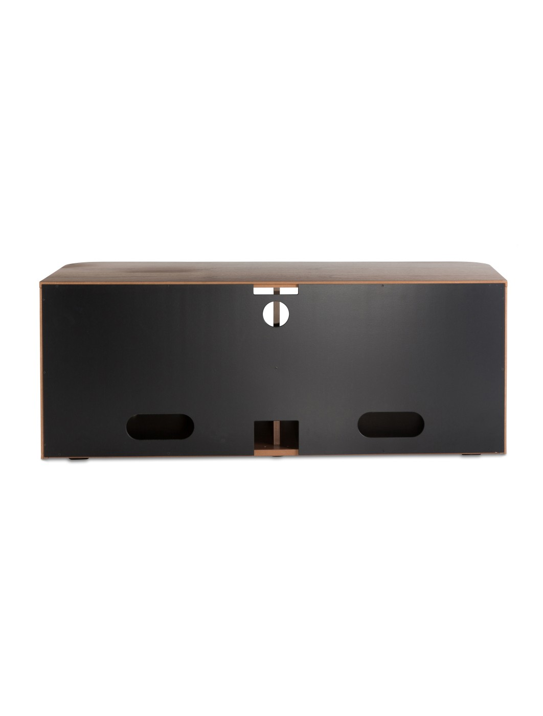 Alphason Hugo TV Stand ADH1260-BLK in Walnut and Graphite