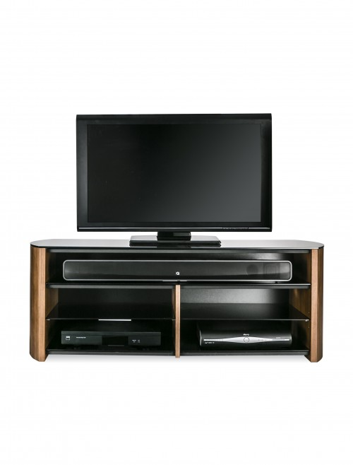 Alphason FW1350SB-LO Finewoods TV Stand - Light Oak