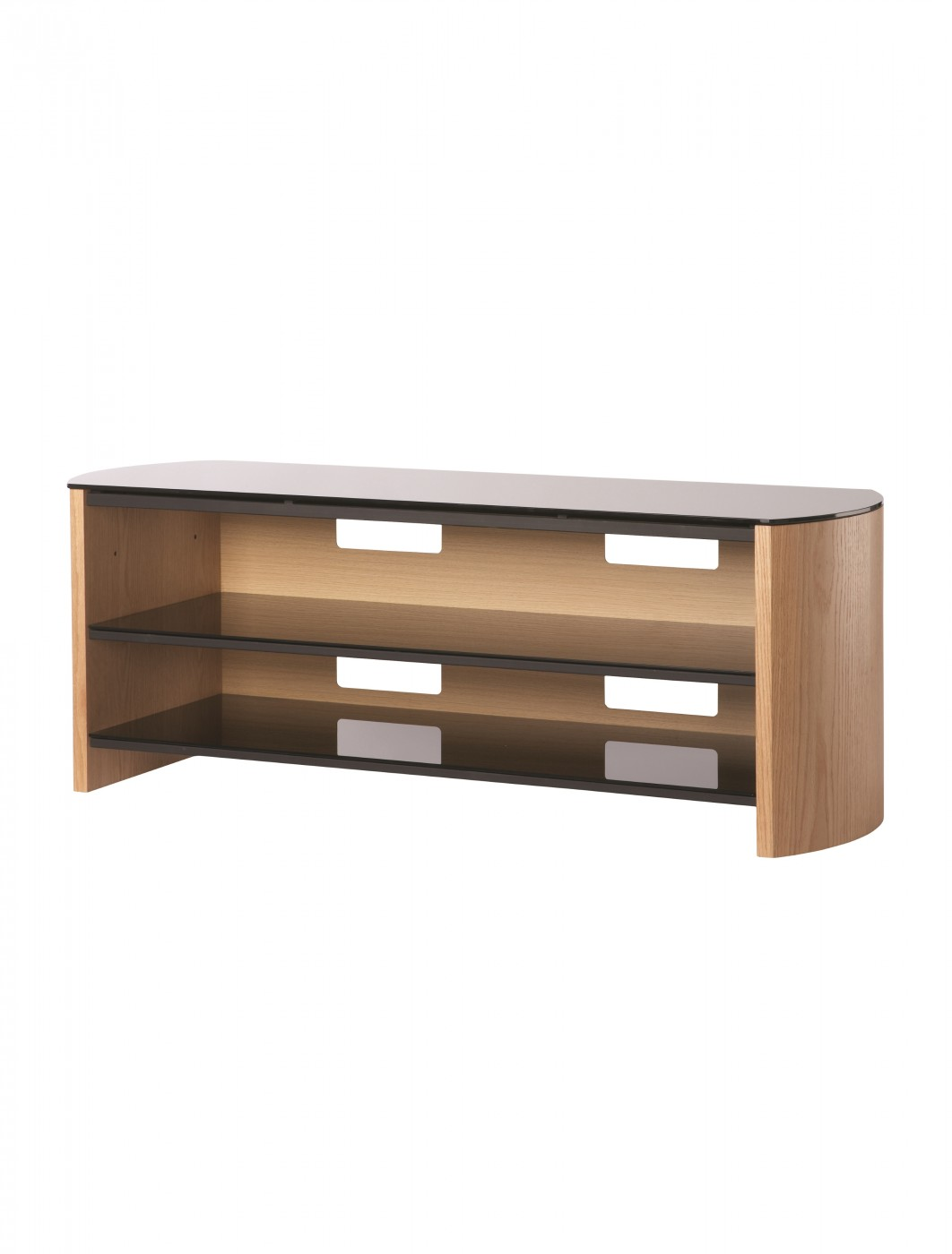 Alphason FW1350-LO/B Finewoods TV Stand
