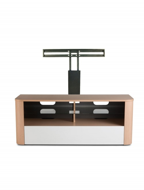 Alphason Hugo Tv Stand Adh1260 Whi White With Bracket