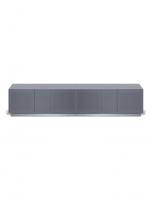 Grey TV Stand Element 2500XL Modular TV Cabinet EMT2500XL-GRY
