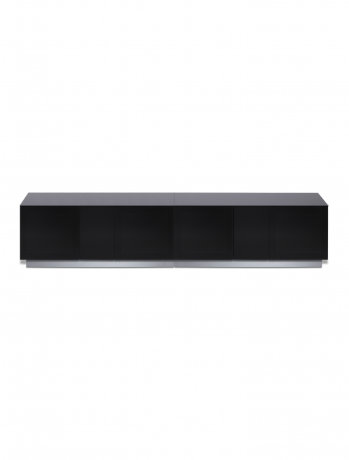Black TV Stand Element 2500XL Modular TV Cabinet EMT2500XL-BLK