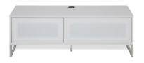 Alphason Helium 1200mm TV Stand in White
