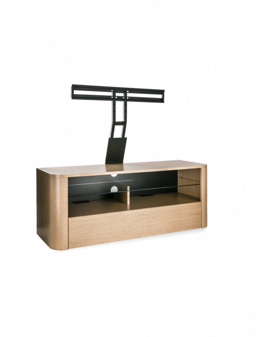 Alphason Hugo TV Stand ADH1260-LO Light Oak with Bracket