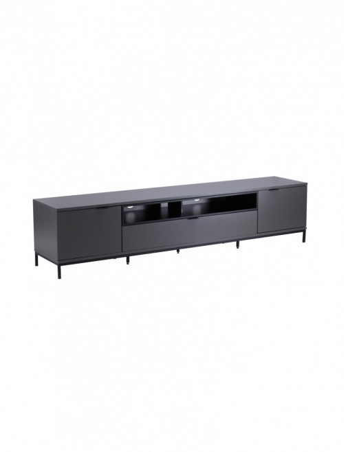 TV Stand Chaplin 2000mm Charcoal Grey TV Unit ADCH2000-CH