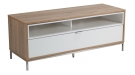 TV Stands - Alphason Chaplin 1135mm White