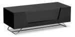 Black Chromium 1000mm TV Stand