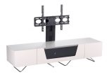 Ivory Chromium 1600mm TV Stand with Bracket