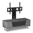 Grey Chromium 1200mm TV Stand with Bracket