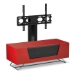 Chromium 1200mm Red TV Stand with Bracket