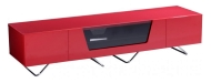Chromium 1600mm Red TV Stand