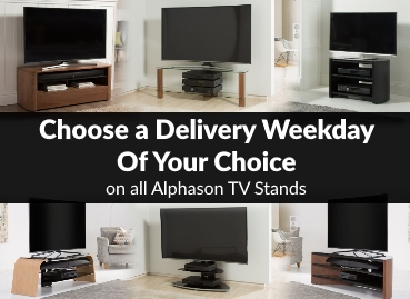 Choose a Delivery Day on Alphason TV Stands