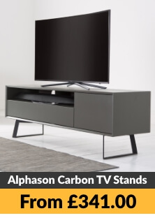 Alphason Carbon TV Stands