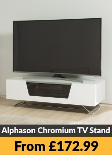 Alphason Chromium TV Stands