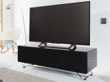 Black Chromium Concept TV Stand