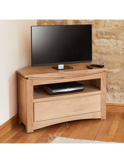 tv stands roscoe oak tv stand cns09a by baumhaus