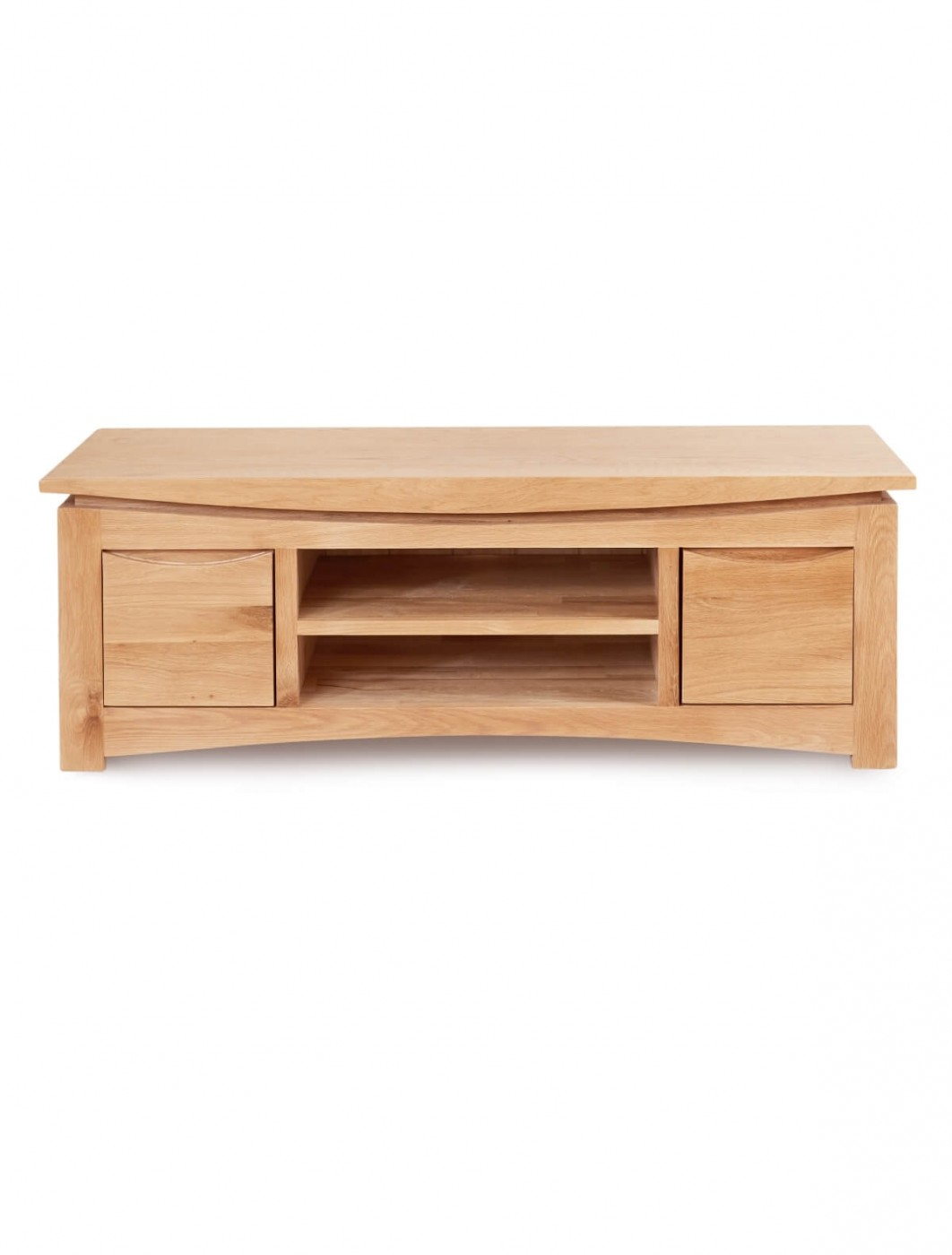 tv stands roscoe oak wide tv stand cns09b by baumhaus enlarged view