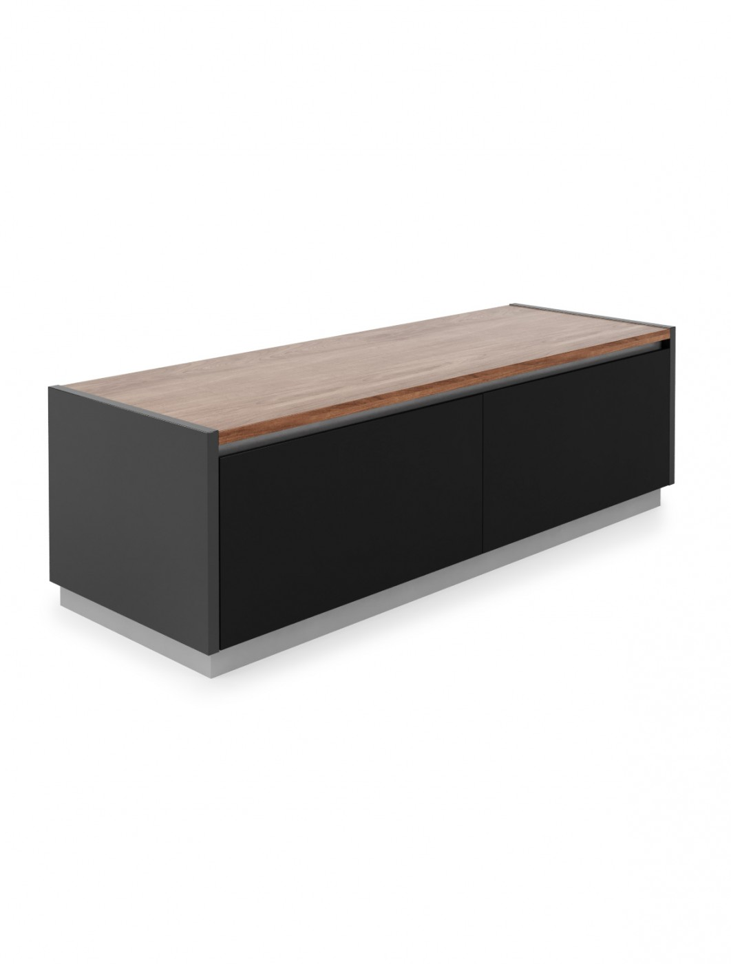 TV Stand Black Horizon TV Cabinet ADHO1200 by Alphason