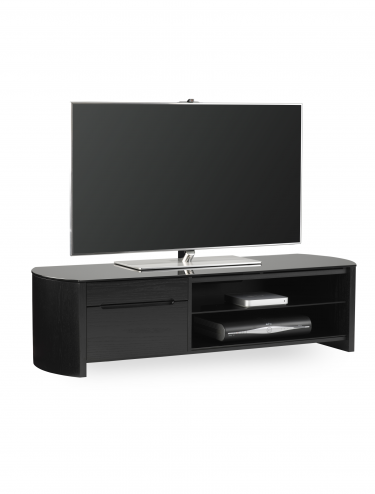 Alphason FW1350CB-BLK Finewoods TV Stand
