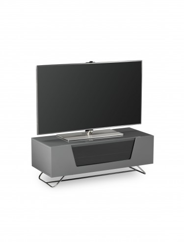 Alphason Chromium 2 TV Stand in Grey CRO2-1000CB-GRY