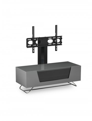 Alphason CRO2-1000BKT-GR Chromium TV Stand inc TV Bracket - Grey