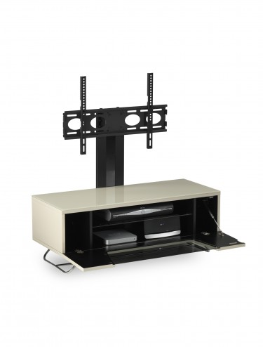 Alphason CRO2-1000BKT-IV Chromium TV Stand inc TV Bracket - Ivory