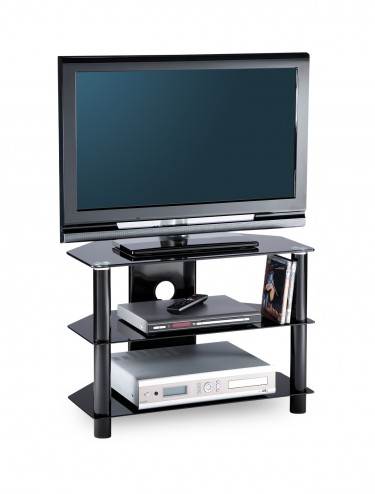 Alphason ESS600/3-BLK Essentials TV Stand