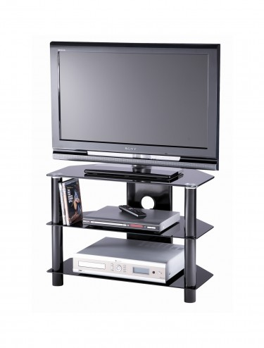 Alphason ESS800/3-BLK Essentials TV Stand