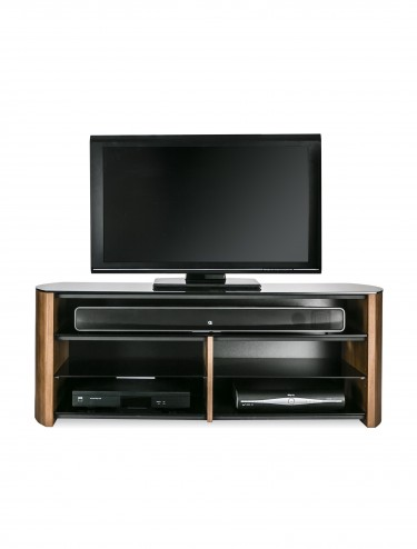 Alphason FW1350SB-W Finewoods TV Stand - Walnut