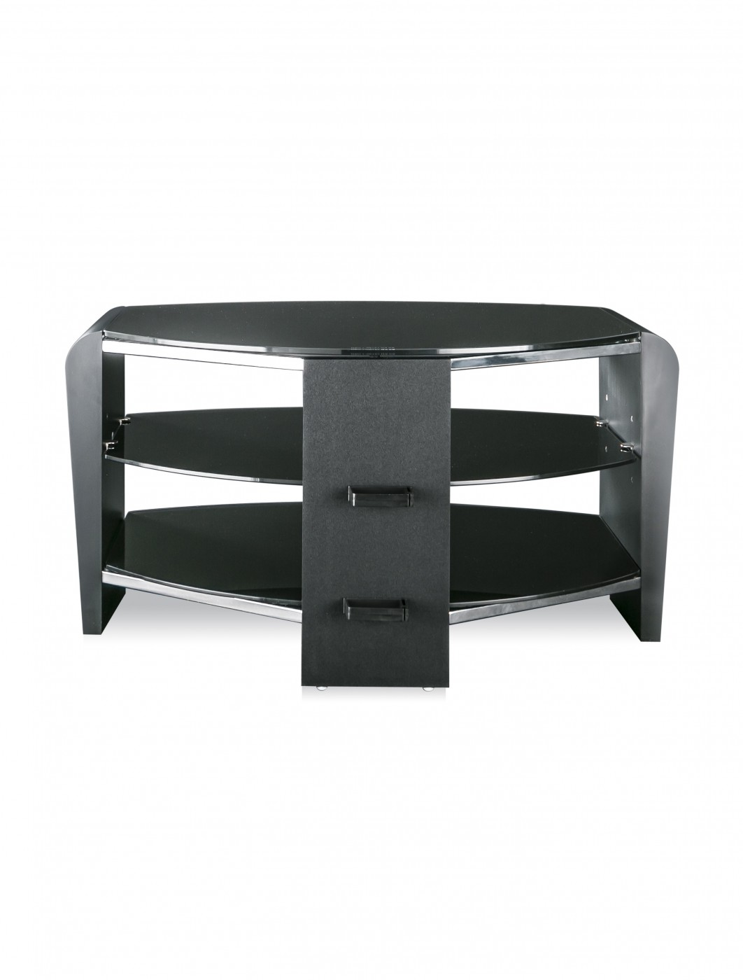 alphason frn800 3blk bk francium tv stand enlarged view